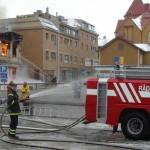 Zweedse brandweer